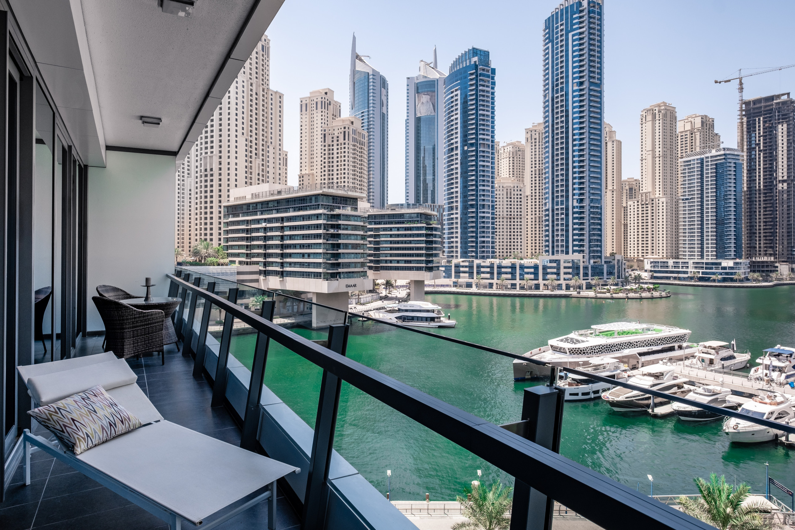 Full Marina View from Modern Apt - Apartments in Dubai