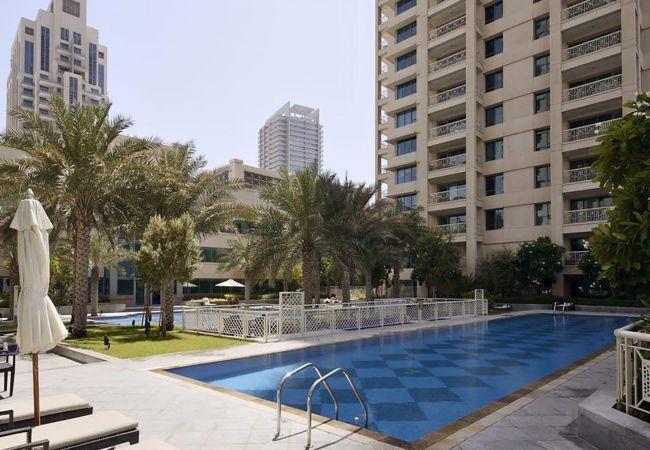 Apartment in Dubai - Burj Khalifa & Fountain Views from Private Terrace