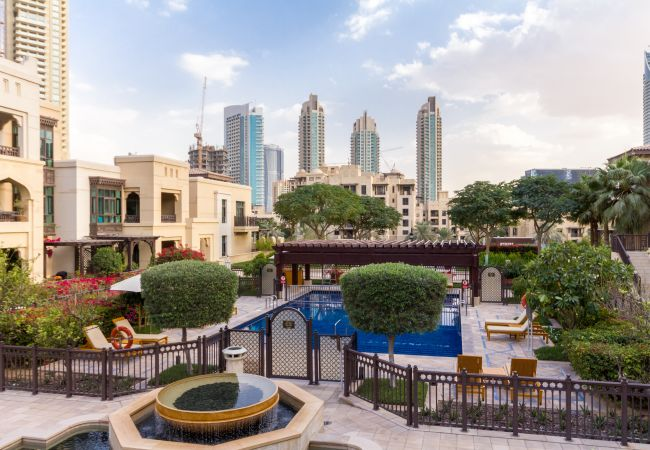 Apartment in Dubai - Luxury Arabian Inspired Apt in Downtown Dubai