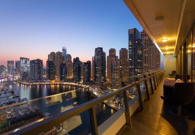 Apartment in Dubai - Big, Bright, Luxury Marina View Apt nxt to Beach
